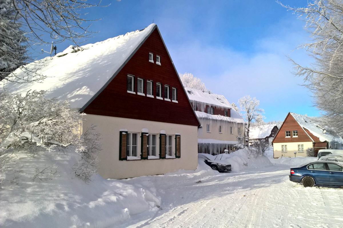 Berghotel Lockwitzgrund im Winter